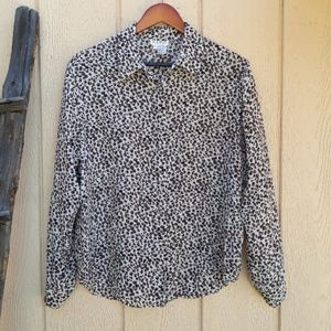Vintage Allison Taylor Blouse Silk Button …